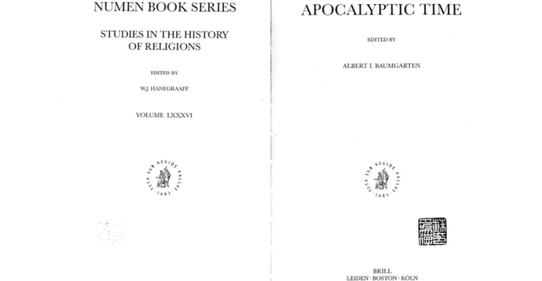 Figure 1—Apocalyptic Time